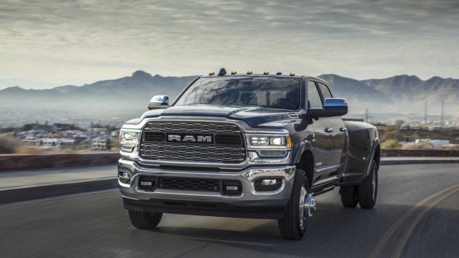 El Ram Heavy Duty 2019 es un monstruoso pick-up cargado de tecnología y con hasta 1.356 Nm de par