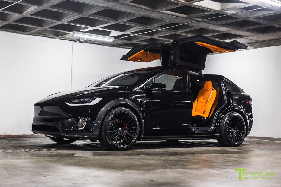 T Sportline sigue haciendo de las suyas sobre el Tesla Model X 100D y esta no pasará desapercibida…