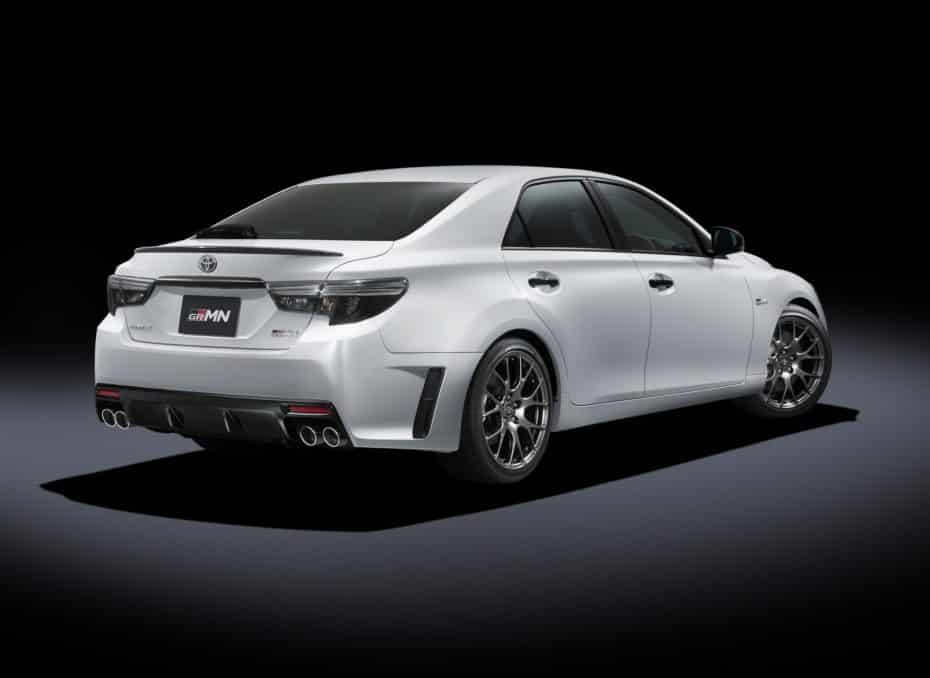 El Toyota Mark X GRMN es una berlina con 318 CV y 380 Nm que solo llegará al mercado japonés