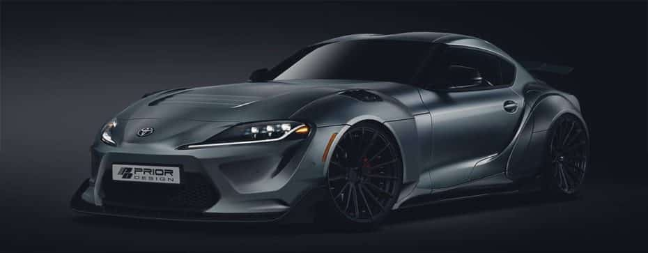 El nuevo Toyota Supra es carne de preparadores: Prior Design ya nos ha dado a conocer su propuesta