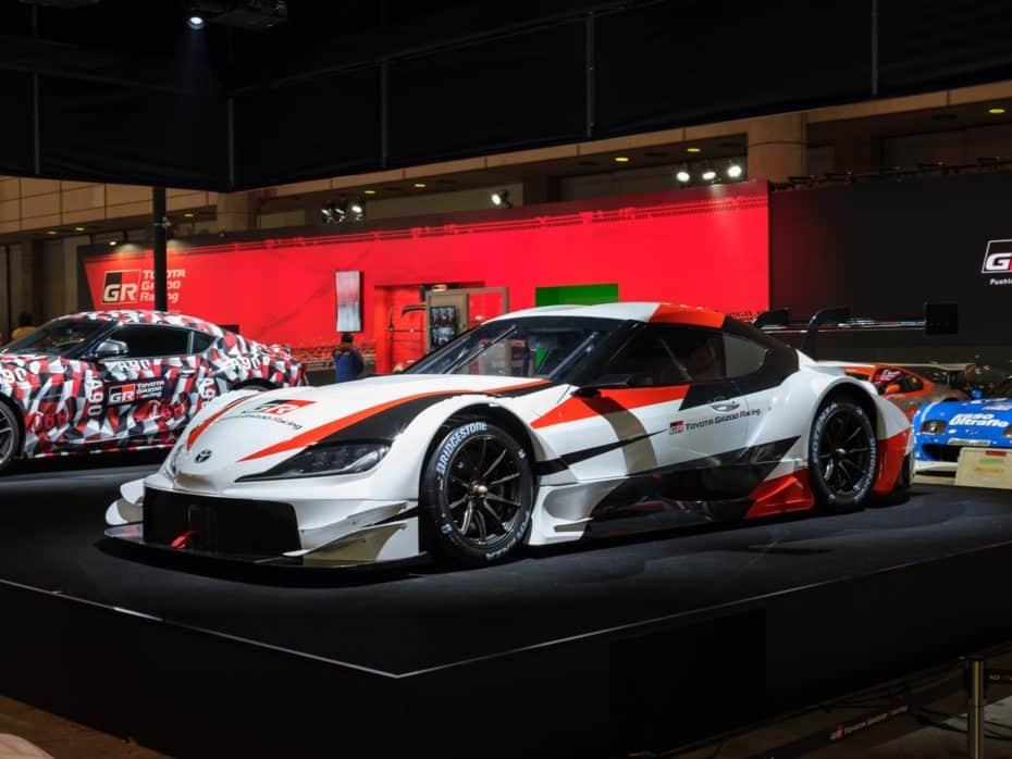El Toyota Supra debutará en la competición Super GT en 2020