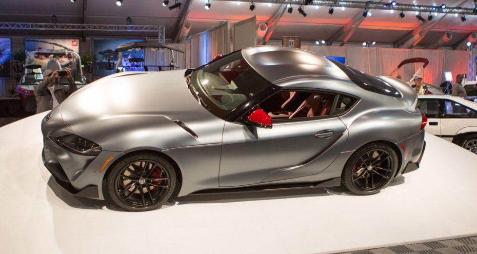 Alguien ha pagado 1.85M de euros por este Toyota Supra 2019 ¿No se le ha ido un poco de las manos?