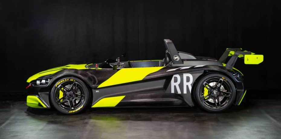 Así es el VUHL 05RR: Más radical, potente y 65 kg más ligero