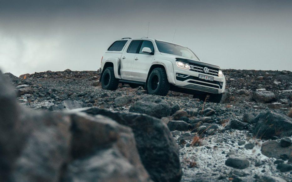 VolkswagenAmarok AT35: El pick up más completo para las expediciones en el Ártico