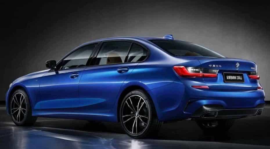 Así es el BMW Serie 3 de batalla larga diseñado para el mercado chino