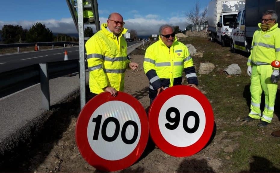 Y recuerda, mañana entran en vigor los nuevos límites de velocidad: A 90 km/h en 11.856 km de vías