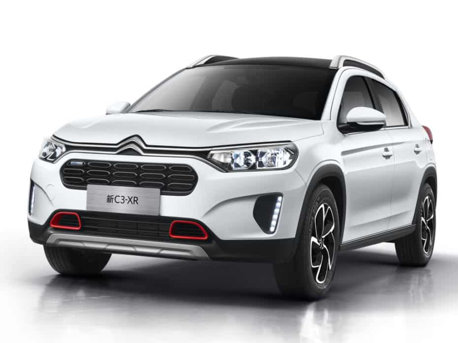 Así es la renovación del Citroën C3-XR: Exclusivo para China