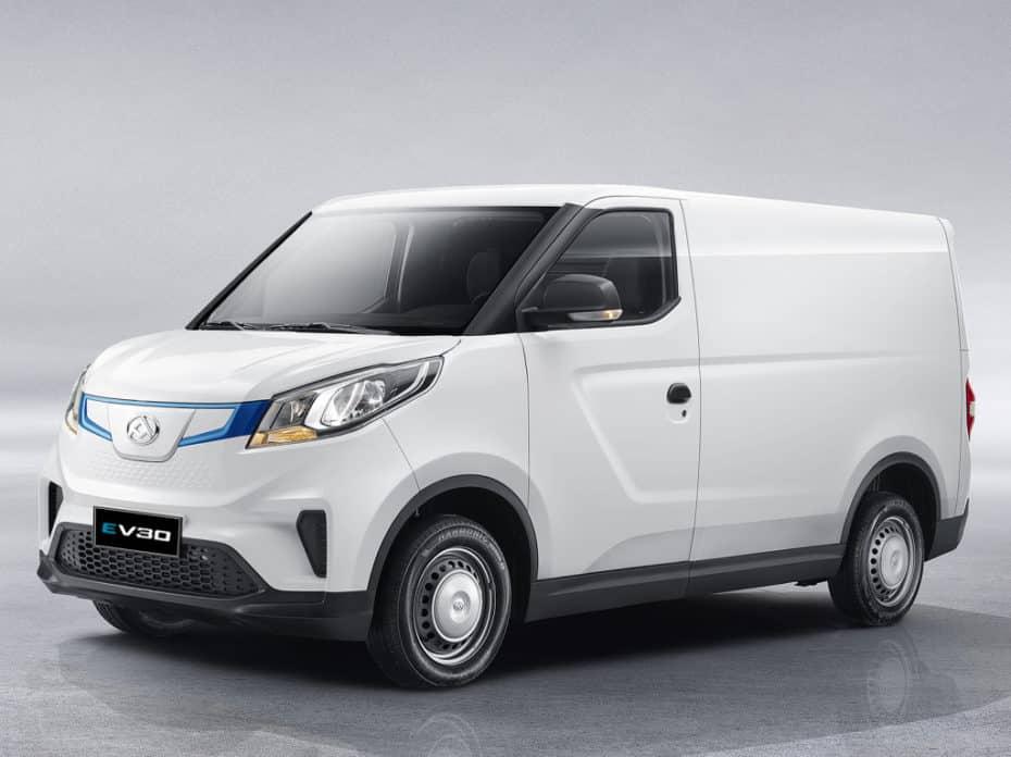 SAIC Datong EV30, el eléctrico chino para las pymes