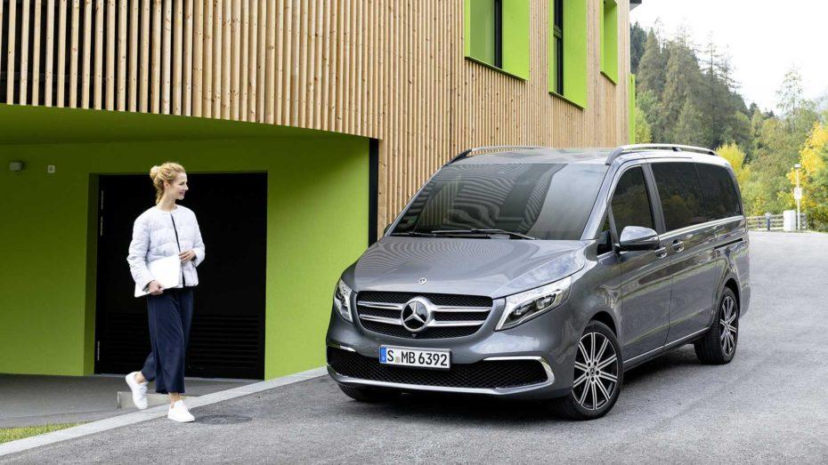 Así es el Mercedes Clase V 2019: Más apetecible