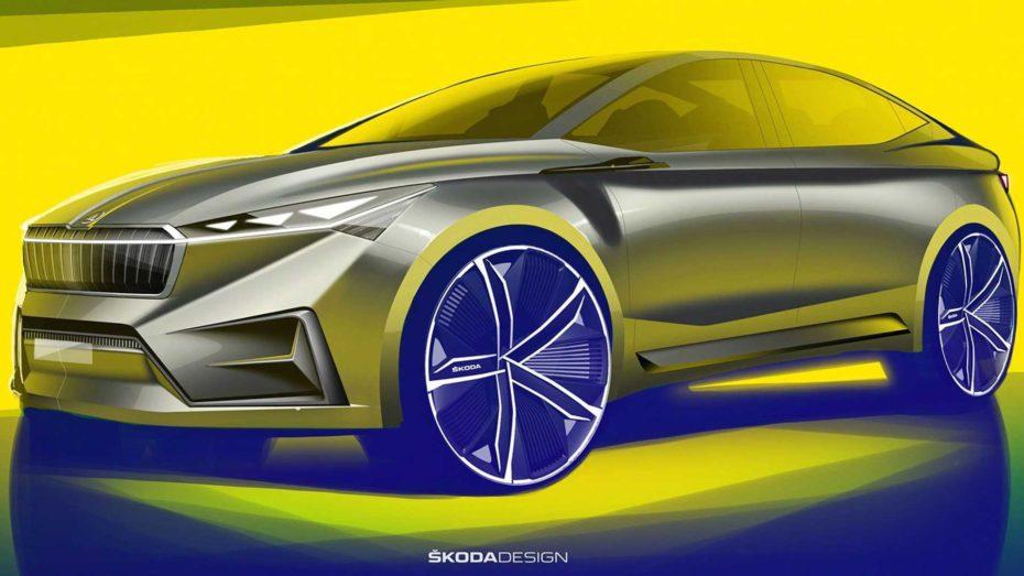 El Škoda Vision iV nos adelanta las líneas de un futuro SUV eléctrico: Lo veremos en Ginebra