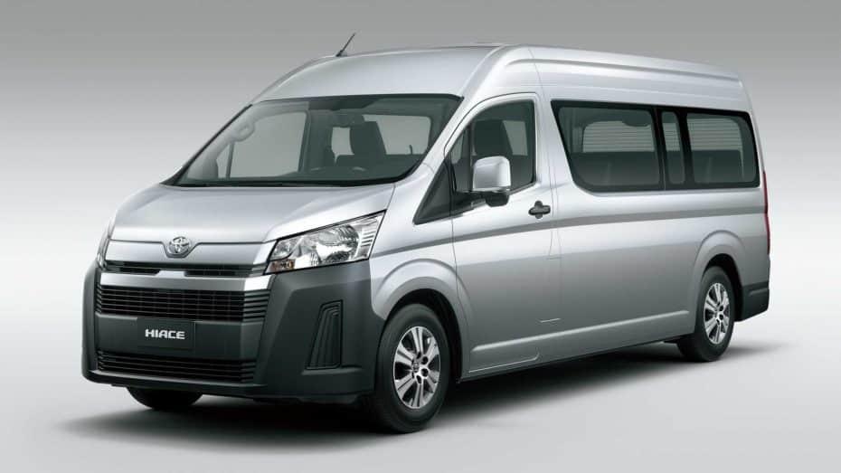 El Toyota HiAce estrena generación