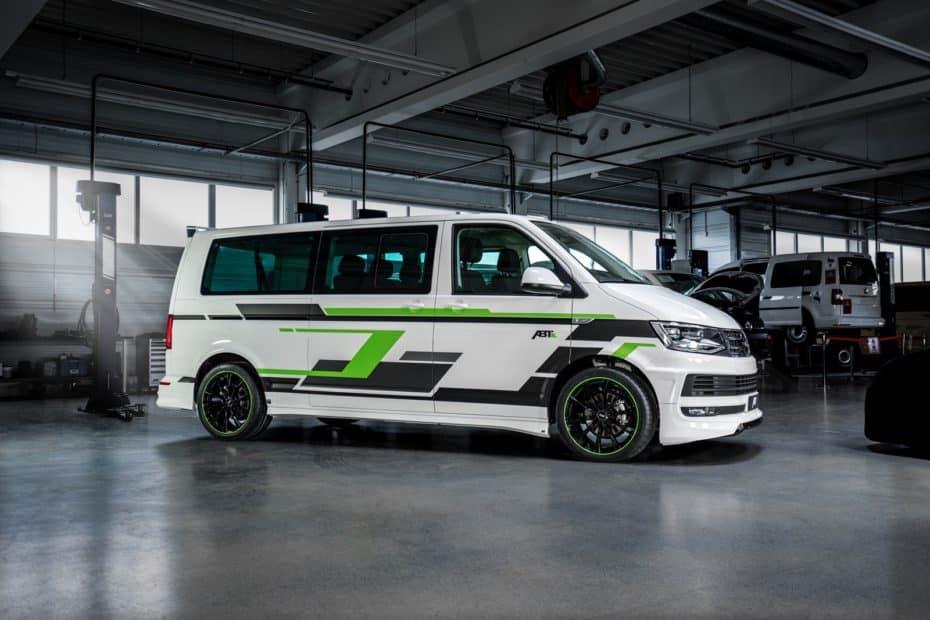 Esta Volkswagen e-Transporter T6 de ABT te dejará con la boca abierta