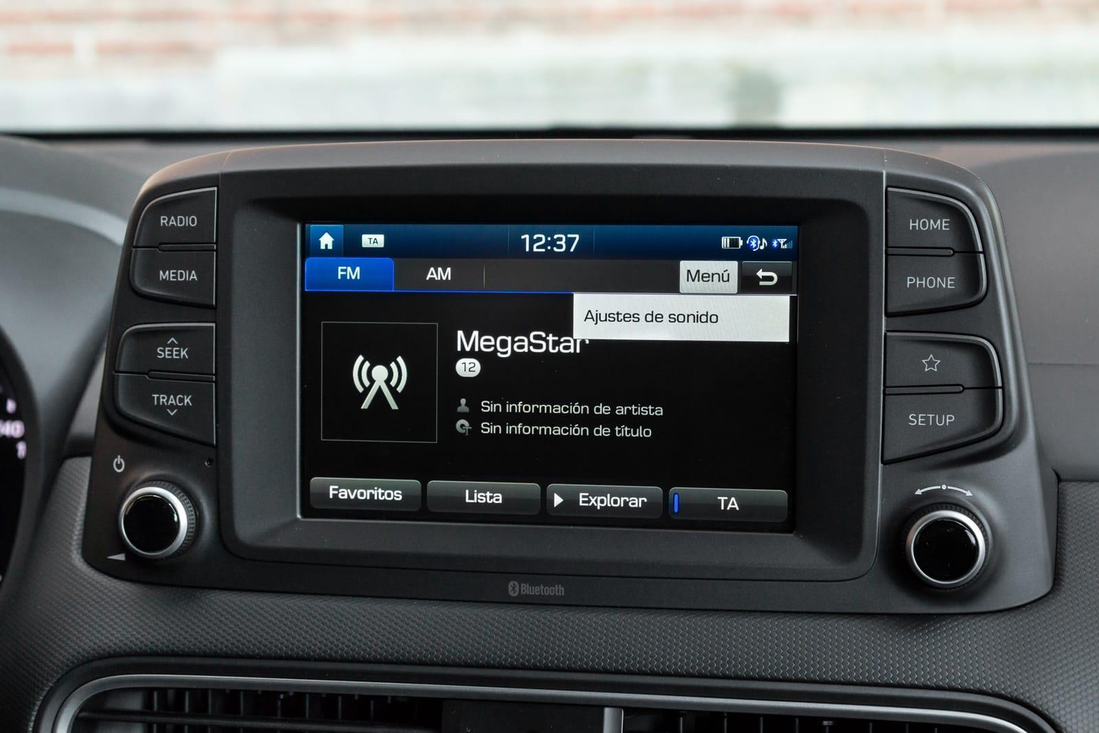Configuración RDS de la radio del coche