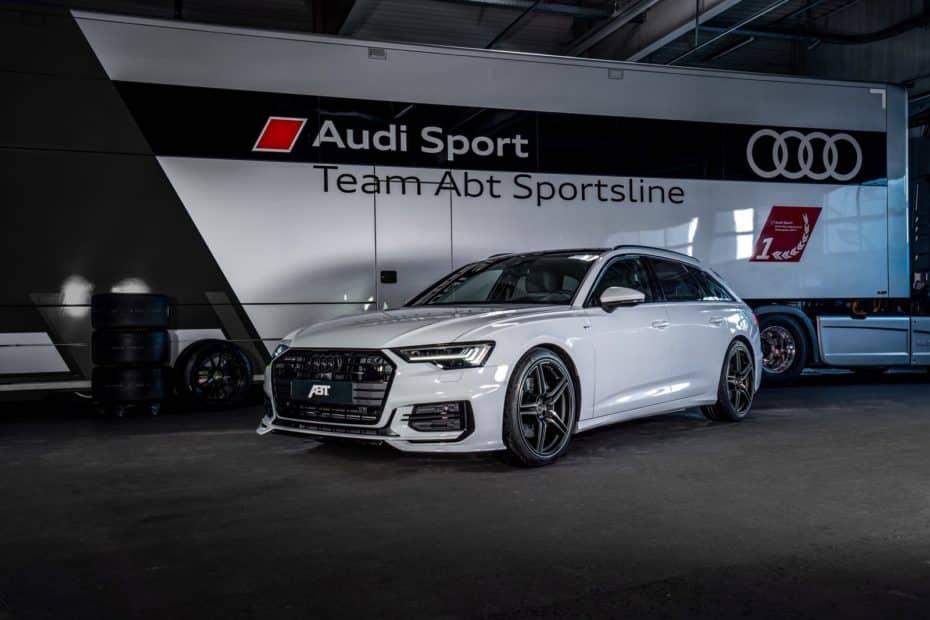 Así luce el Audi A6 3.0 TDI con el «aero package» de ABT