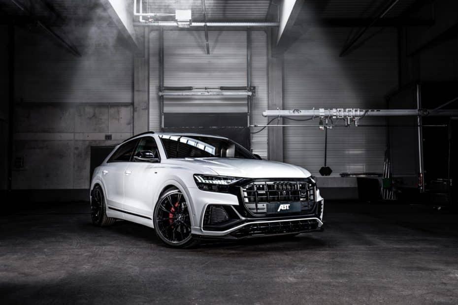 ABT nos muestra nuevamente su Audi Q8 50 TDI con kit aerodinámico