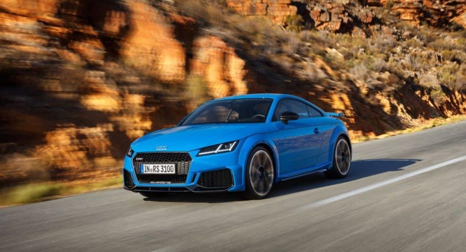Así es el nuevo Audi TT RS: Debuta con más radiadores para refrigerar su TFSI de cinco cilindros y 400 CV