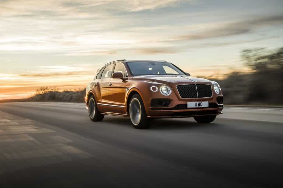 Bentley Bentayga Speed: 2.500 kg de peso y un 0 a 100 km/h en 3.9 s