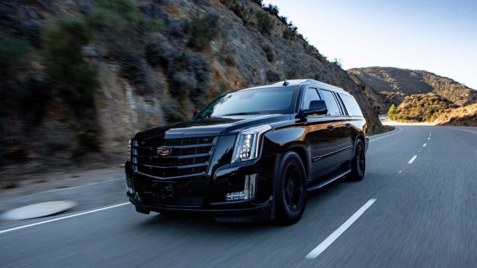 Este lujoso Cadillac Escalade con blindaje de nivel 6 tiene más gadgets que un coche de James Bond