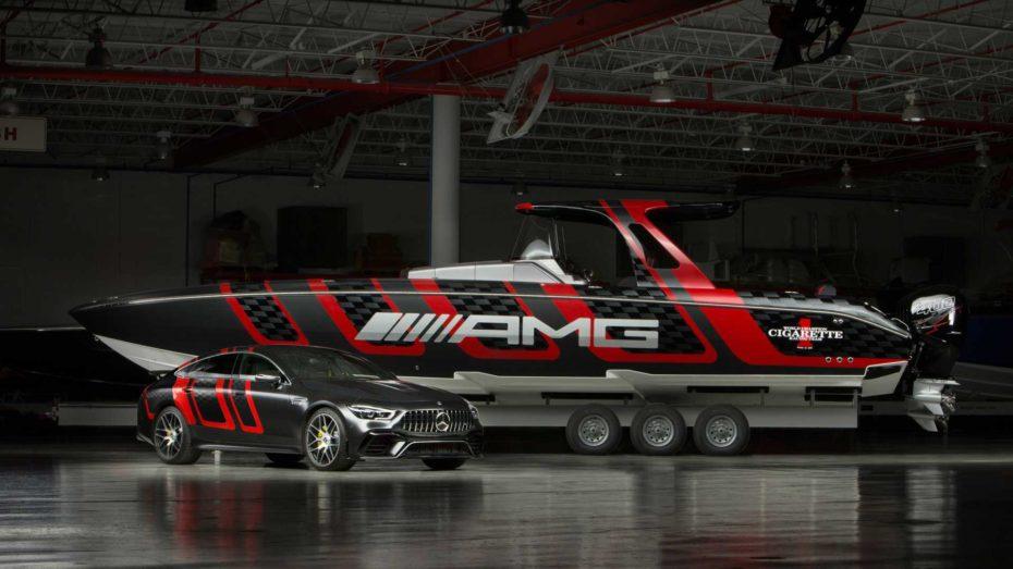 Cigarette Racing 41' AMG Carbon Edition: Inspiración en el buque insignia de Affalterbach con 1.600 CV