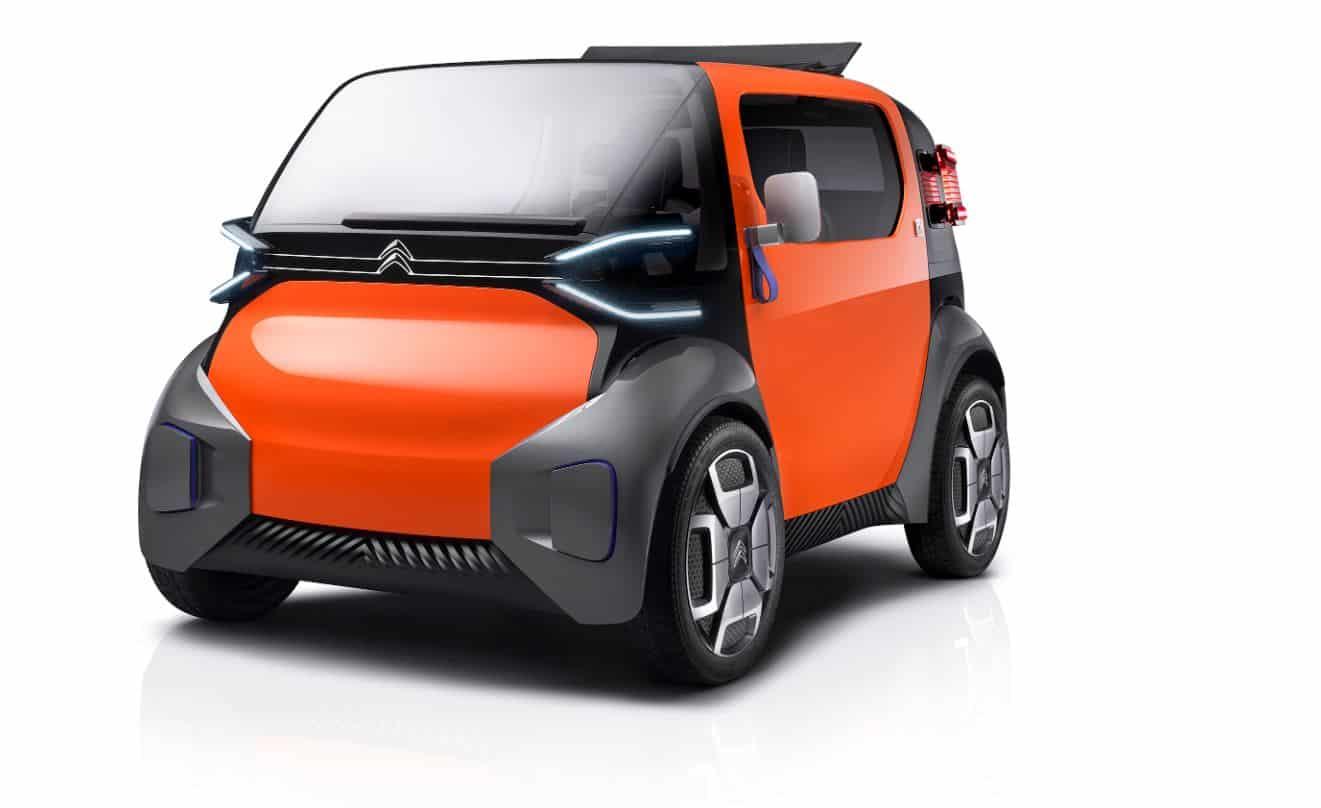 Citroën Ami One: La solución perfecta para las ciudades del futuro