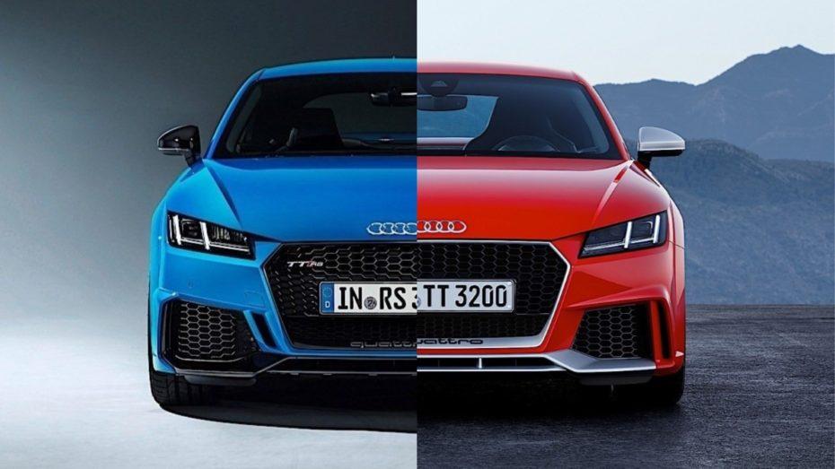 Comparación visual: Juzga tú mismo cuánto ha cambiado el Audi TT RS 2019