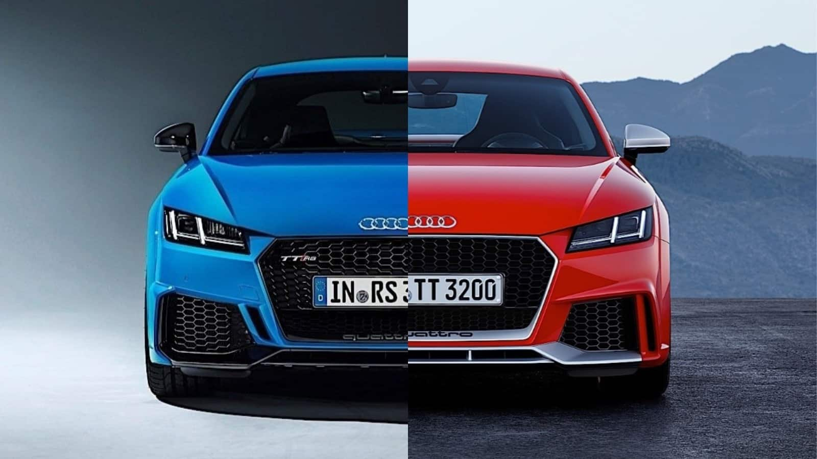 Comparativa visual Audi TT RS 2019: Juzga tú mismo