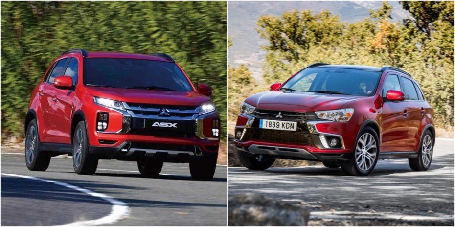 Comparación visual: Juzga tú mismo cuánto ha cambiado el Mitsubishi ASX en su tercer restyling