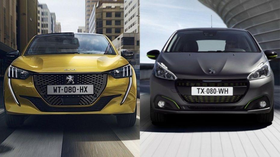 Comparación visual: Juzga tú mismo cuánto ha cambiado el Peugeot 208 2019