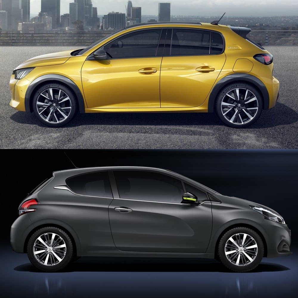 Comparativa Visual Peugeot 208 2019 La Revoluci 243 N Urbanita