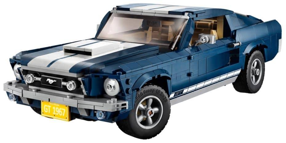 Quieres este Ford Mustang Fastback de 1967 de LEGO y lo quieres ya…