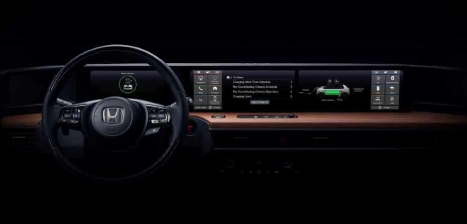 Honda nos muestra la primera imagen del interior de su urbanita 100% eléctrico