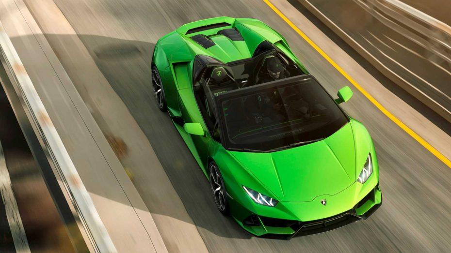 Lamborghini Huracán EVO Spyder 2019: 640 CV de furia italiana a cielo abierto