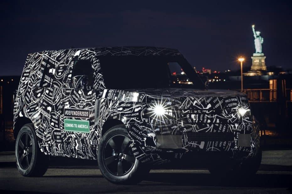 ¡Filtrado! El interior del nuevo Land Rover Defender 2020 luce realmente tecnológico