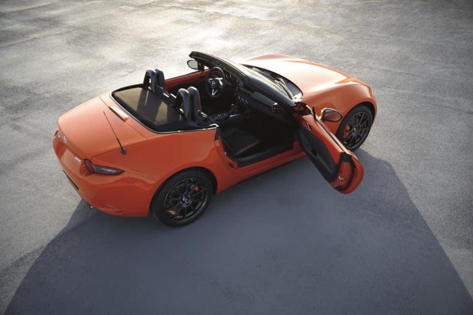 Mazda MX-5 30 Aniversario: Único, llamativo y con muchas 'chucherías'