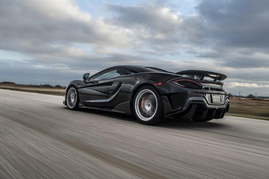 McLaren 600LT HPE1000: La creación más salvaje de Hennessey supera los 1.000 CV de potencia