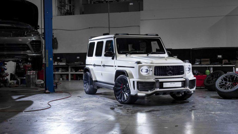 Urban Automotive nos propone un Mercedes-AMG G63 más radical: Dieta rica en fibra y 115 CV extra