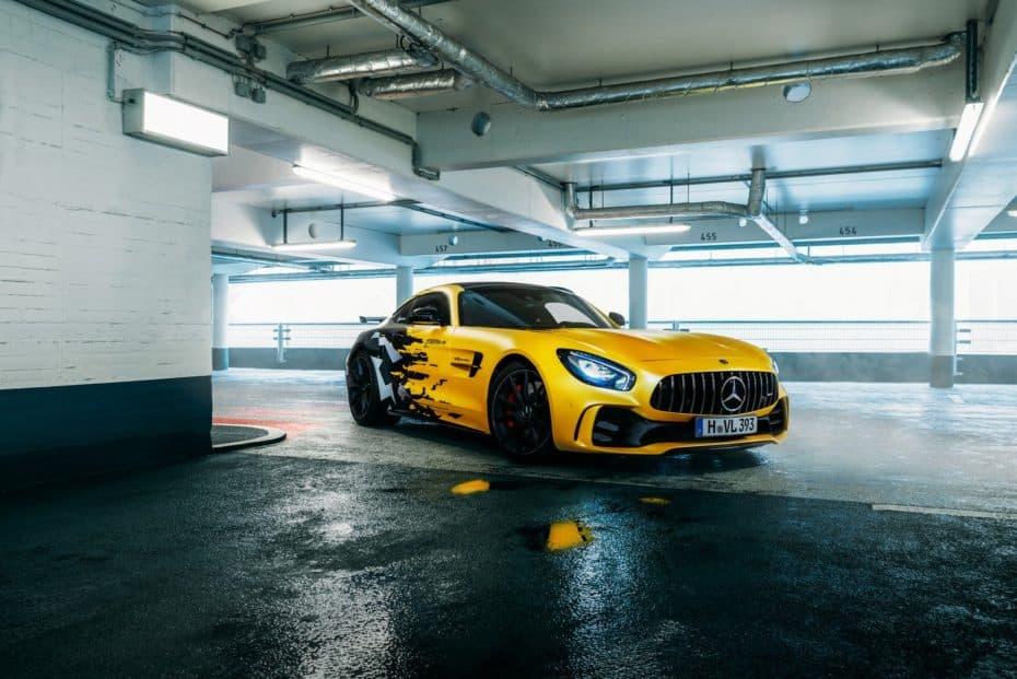 Fostla te tiene preparado un Mercedes-AMG GT R muy especial: Le ha dado una sobredosis de caballos