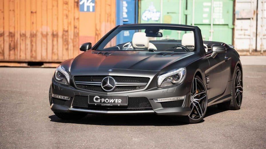 Que no te engañe su apariencia: Este Mercedes-AMG SL63 esconde un V8 de 5.5 litros con 800 CV
