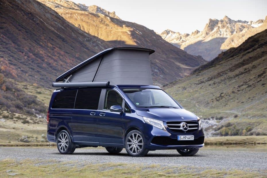 Todos los detalles oficiales de los renovados Mercedes-Benz Marco Polo y Marco Polo Horizon