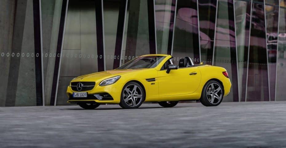 Aquí los precios del Mercedes SLC Final Edition