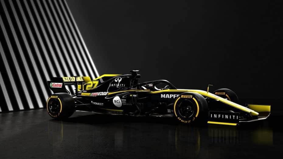 La escudería Renault F1 Team acaba de presentar su nuevo monoplaza: El Renault R.S.19 en detalle