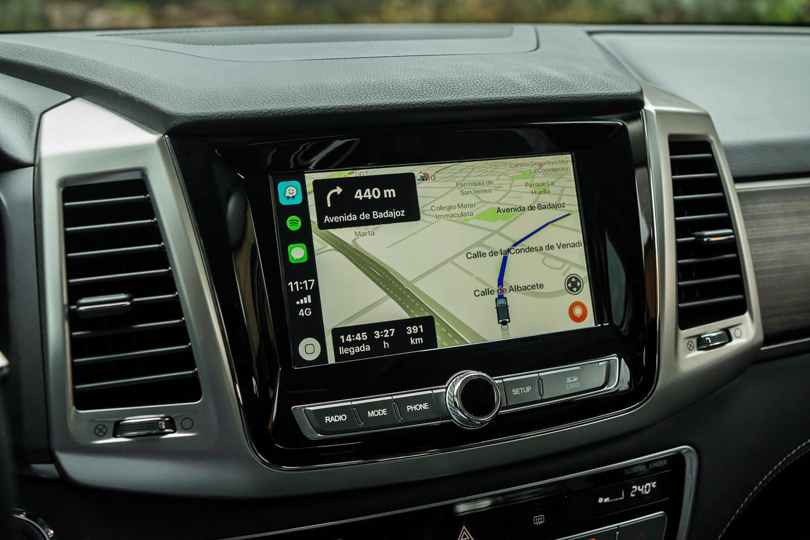 Controla el volumen del GPS