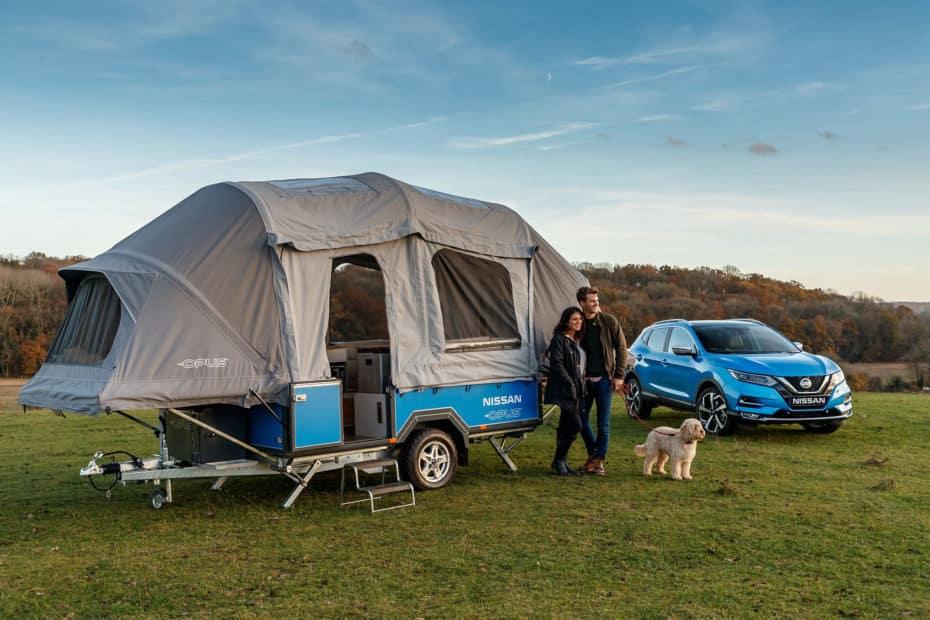 El Nissan x OPUS es la propuesta camper más innovadora: Emplea baterías de coches eléctricos y tiene de todo