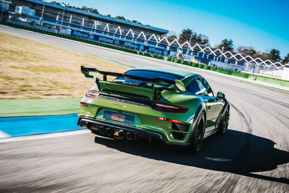 Porsche 911 GTStreet RS por TechArt: El 'nueveonce' Turbo más bestia jamás creado tiene 190 CV extra
