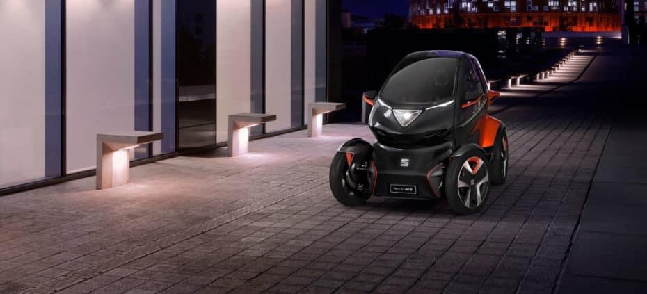 SEAT Minimó: A la conquista de la micromovilidad urbana en formato Renault Twizzy