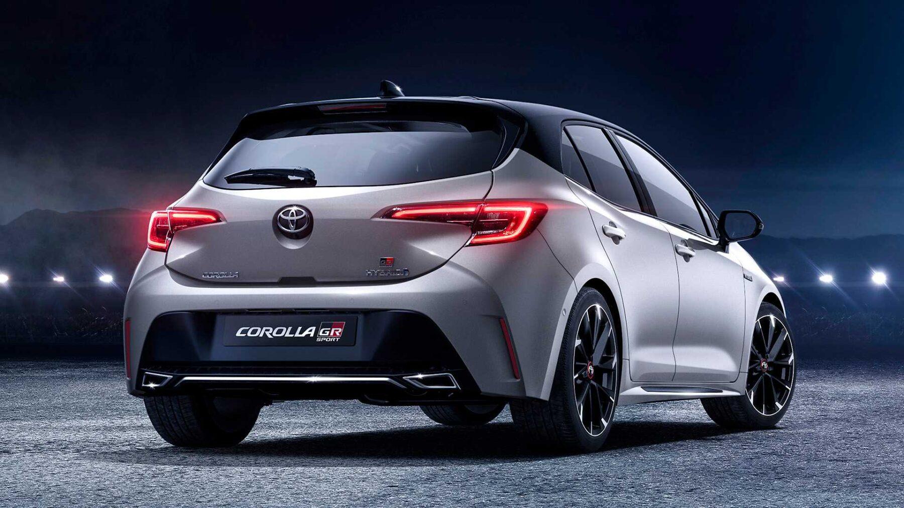 Toyota presentó el nuevo Corolla deportivo