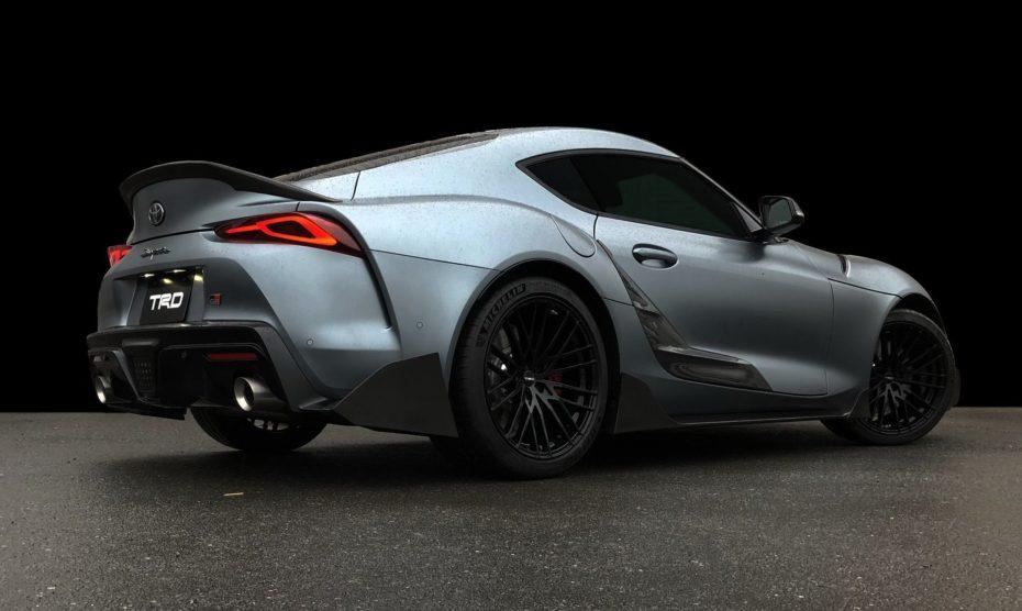 Toyota GR Supra Performance Line: Más agresividad de fábrica a base de fibra de carbono