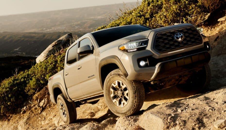 El Toyota Tacoma llega al Salón de Chicago con muchas mejoras