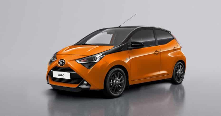Nuevos Toyota Aygo x-style y x-cite 2019