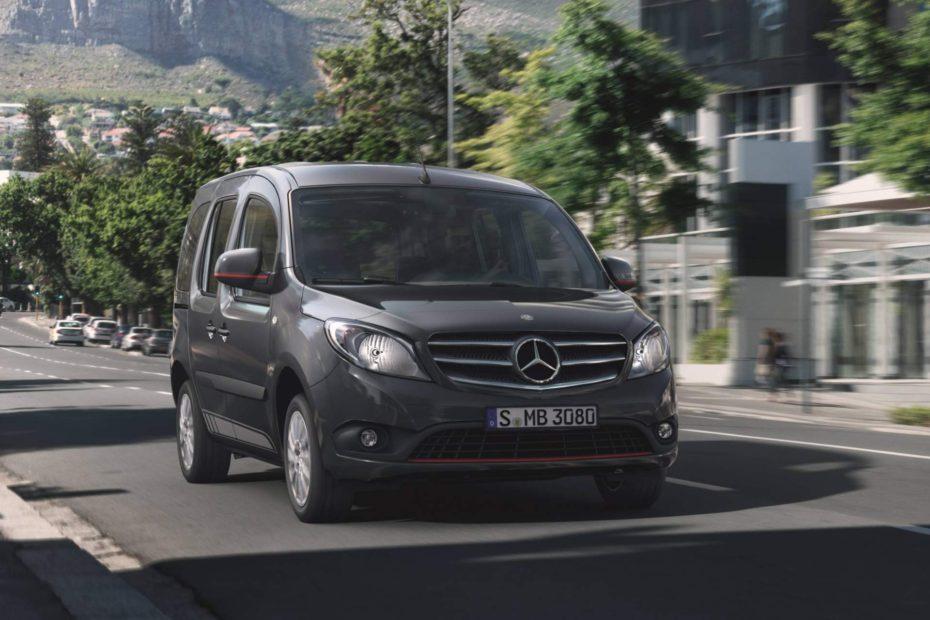 El Mercedes Citan estrena motores diésel